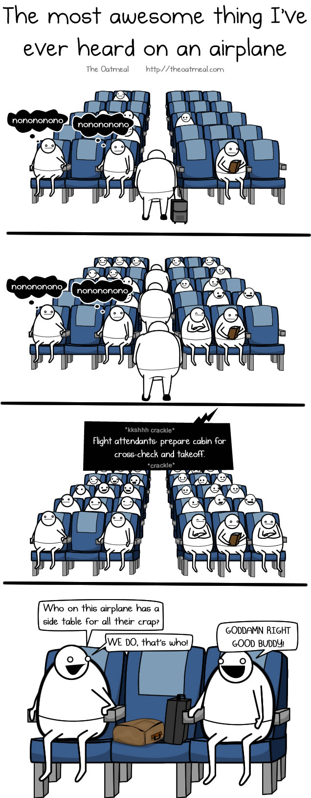 the saddest thing i u0027ve ever heard on an airplane the oatmeal