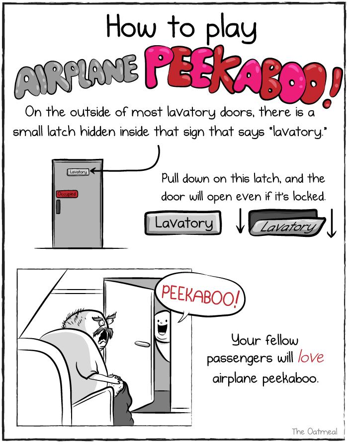How To Play Airplane Peekaboo The Oatmeal