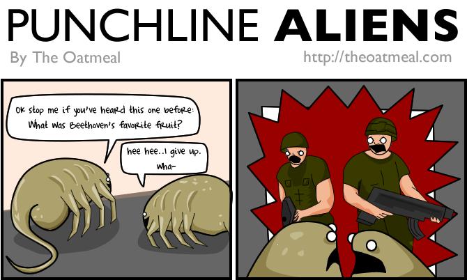Punchline Aliens