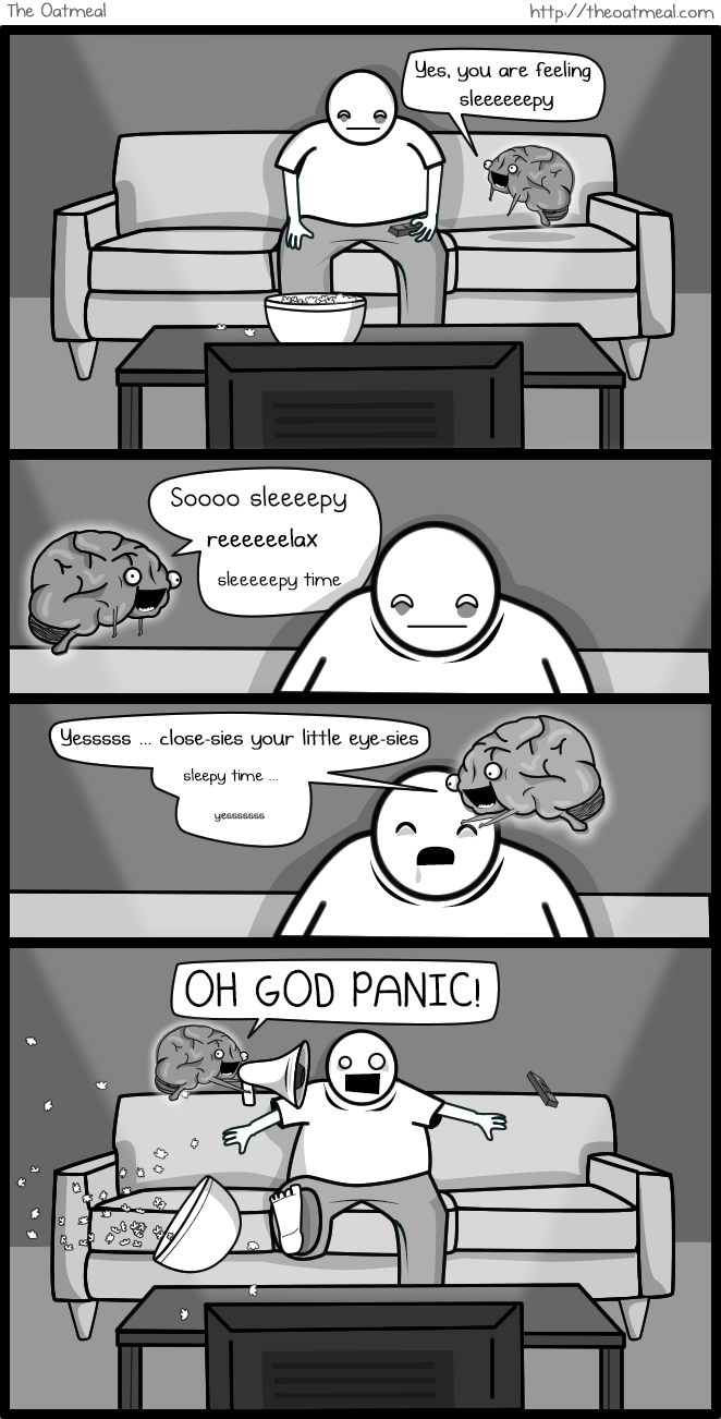 The Oatmeal-If my brain were an imaginary friend