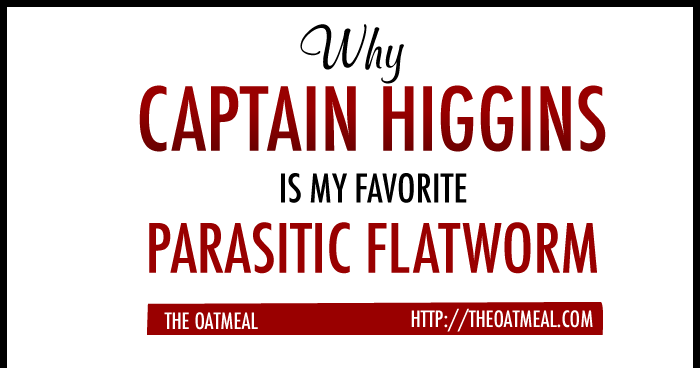 Why Captain Higgins is my favorite parasitic flatworm