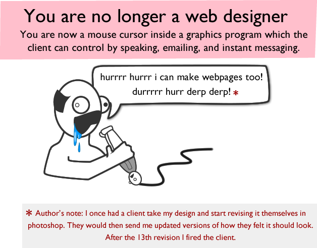 how web design goes to hell