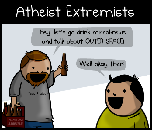 Atheist extremists