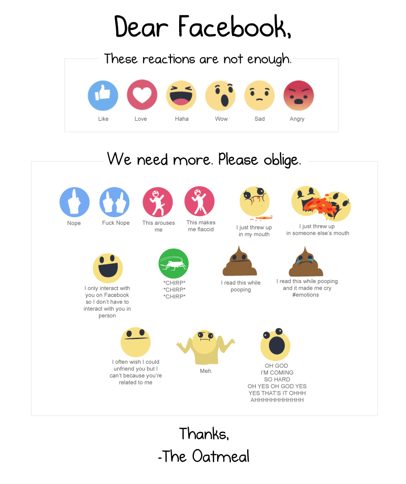 facebook_reactions_big i made some more facebook reactions the oatmeal