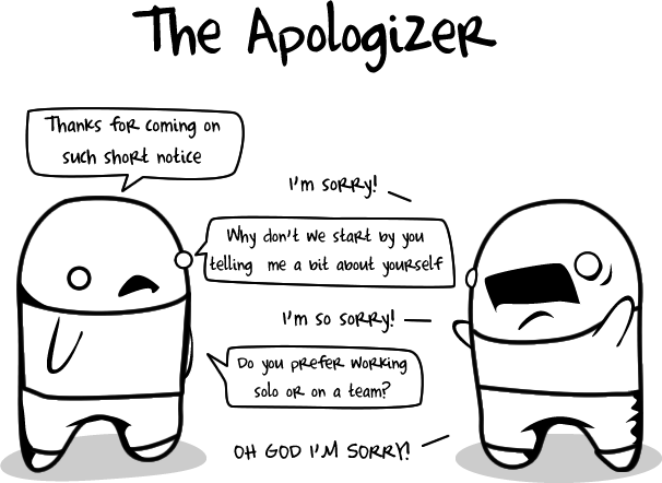 The apologizer