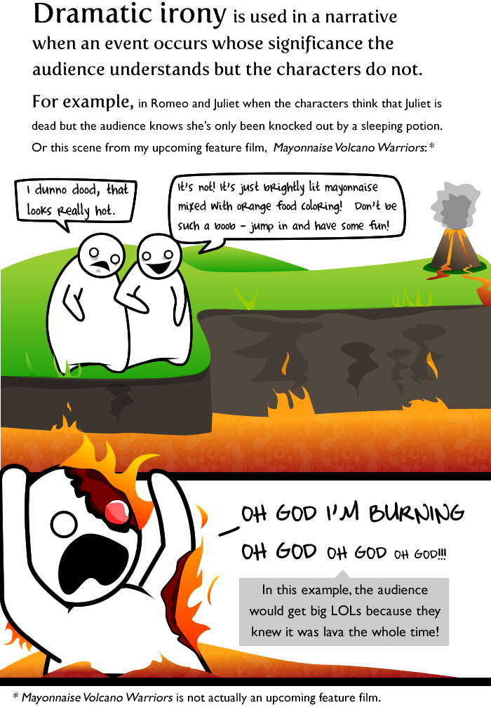 The 3 Most Common Uses Of Irony The Oatmeal