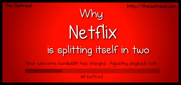 Why Netflix is splitting itself in two