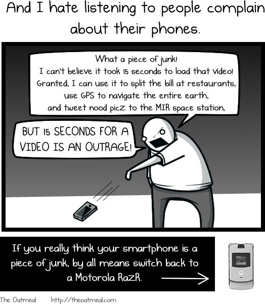 11 Loving and hating a smartphone