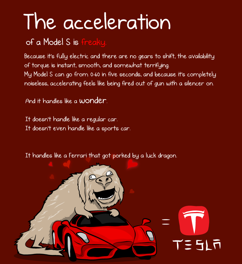 What It S Like To Own A Tesla Model S A Cartoonist S