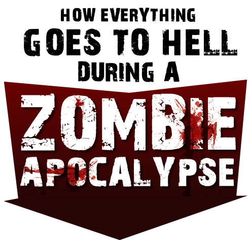 How Everything Goes to Hell During a Zombie Apocalypse by TheOatmeal