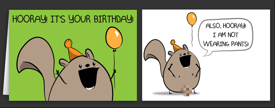Horrible cards happy birthday cards by the oatmeal horrible cards greeting cards by the oatmeal m4hsunfo