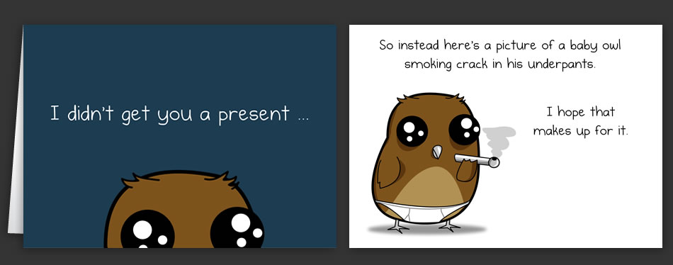 Horrible cards greeting cards by the oatmeal horrible cards greeting cards by the oatmeal bookmarktalkfo Gallery