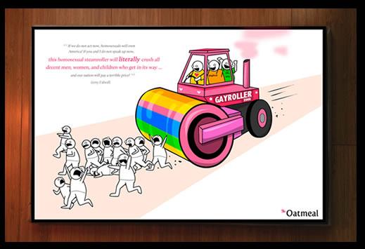 The GayRoller 2000 Print