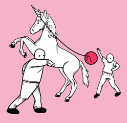 Unicorn Tetherball
