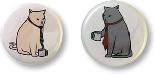 Bobcats Buttons