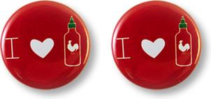 Sriracha Buttons
