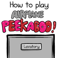How to play airplane peekaboo