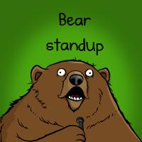 Bear standup