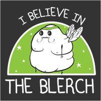 I believe in The Blerch running shirts now available!