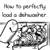 How to perfectly load a dishwasher