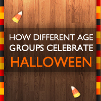 How Different Age Groups Celebrate Halloween