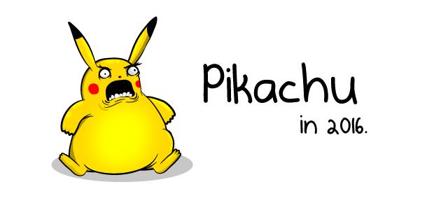 Pikachu in 2016 the oatmeal - Images de pikachu ...