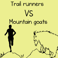 Trail runners VS mountain goats