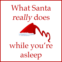What Santa really does while you're asleep