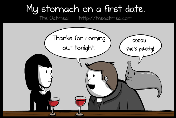 The oatmeal dating site