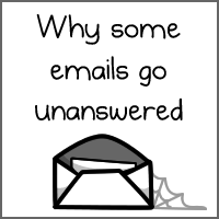 Why some emails go unanswered