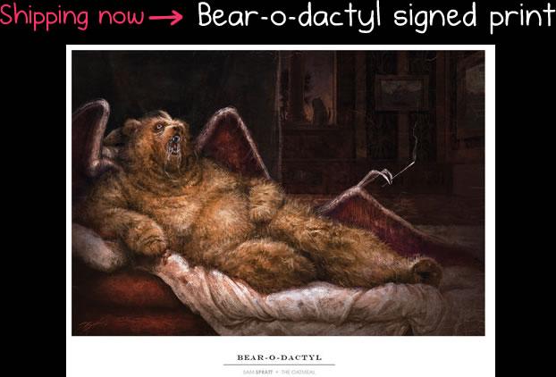 The bearodactyl print