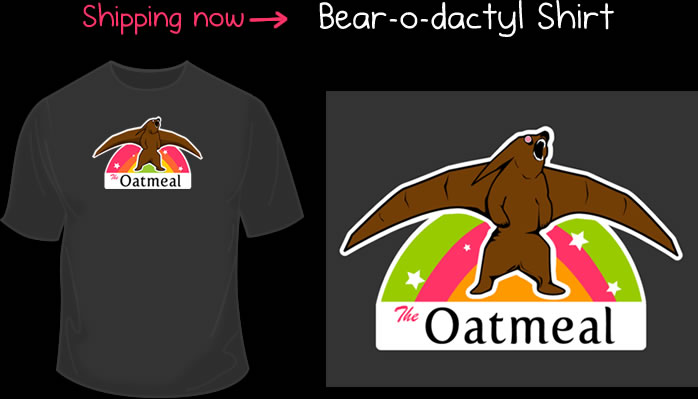 The bearodactyl shirt