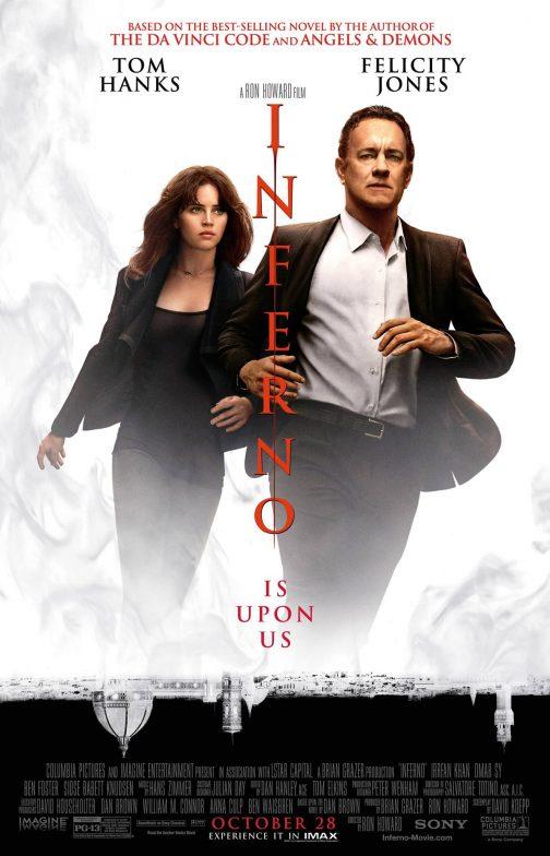 'Inferno' Advance Screening Passes