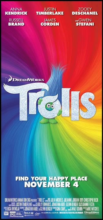 'Trolls' Advance Screening Passes