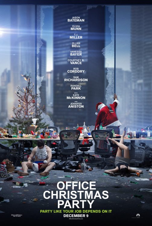 'Office Christmas Party' and Blaze Pizza Giveaway!