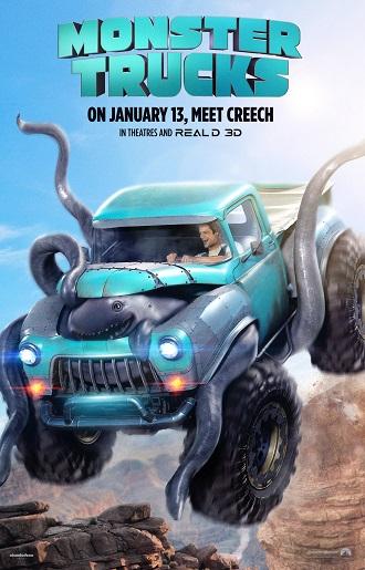 'Monster Trucks' Free Movie Passes