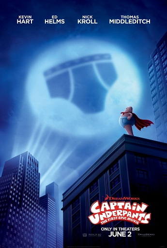 'Captain Underpants: The First Epic Movie' Advance Screening Passes