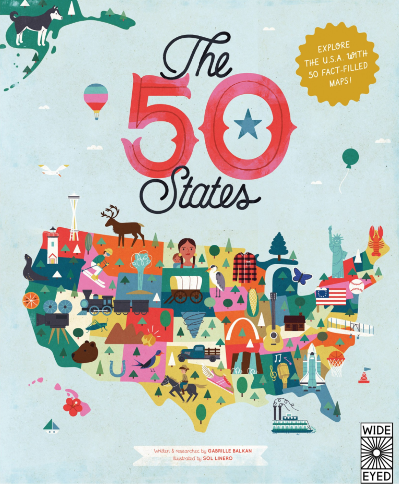 The 50 States By Gabrielle Balkan Sol Linero