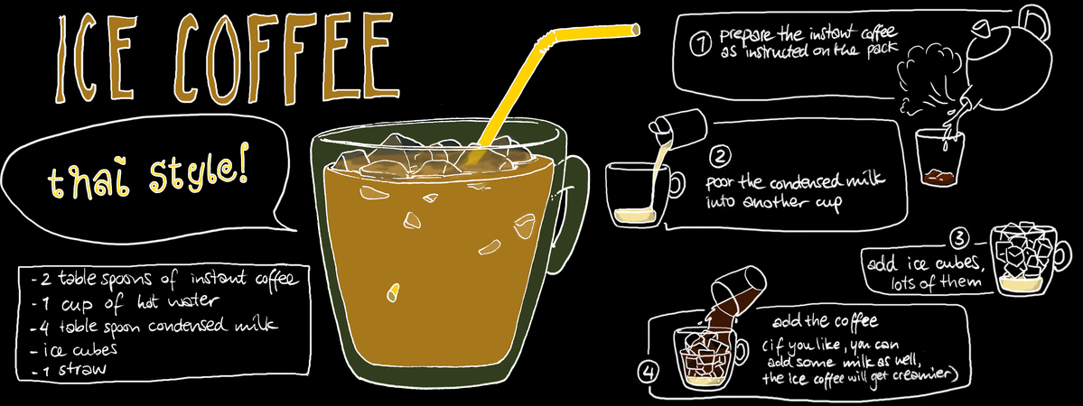 Thai Ice Coffee by Koosje Koene - They Draw & Cook