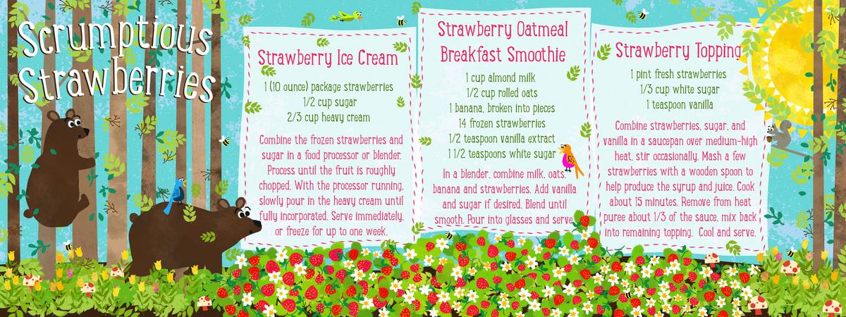 Strawberries3ways