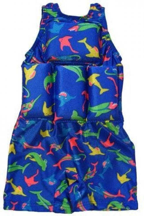 My Pool Pal Boys Floating Bathing Suit Flotation Swimsuit (Sharks, M (40-50 lbs)) at Sears.com