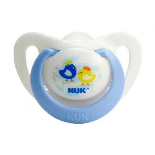 NUK Advanced Orthodontic Silicone Pacifiers Specially Designed for Newborns 0-2 Months 2pk (Boys) at Sears.com