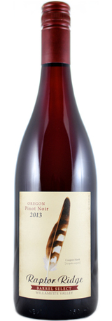 Raptorridge pinotnoir barrel