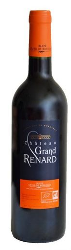 Grand renard rouge bottle 189x660