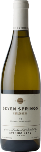 Eveningland chardonnay sevensprings new