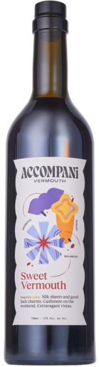 Sweet vermouth transparent