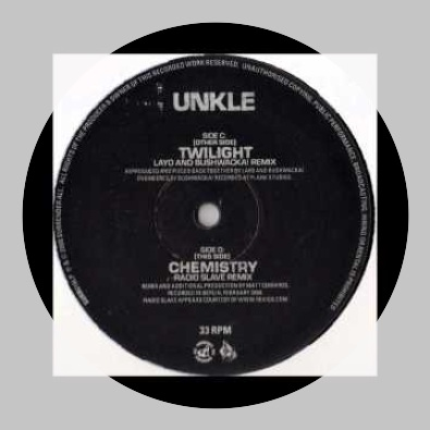 Chemistry (Radio Slave remix) by UNKLE