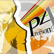 Backside of the TV by Persona 4 OST