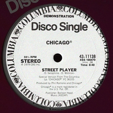 Street Player by Chicago