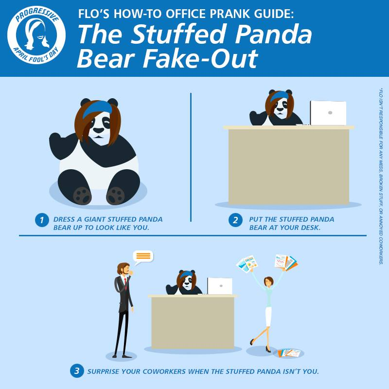 Panda bear fake out
